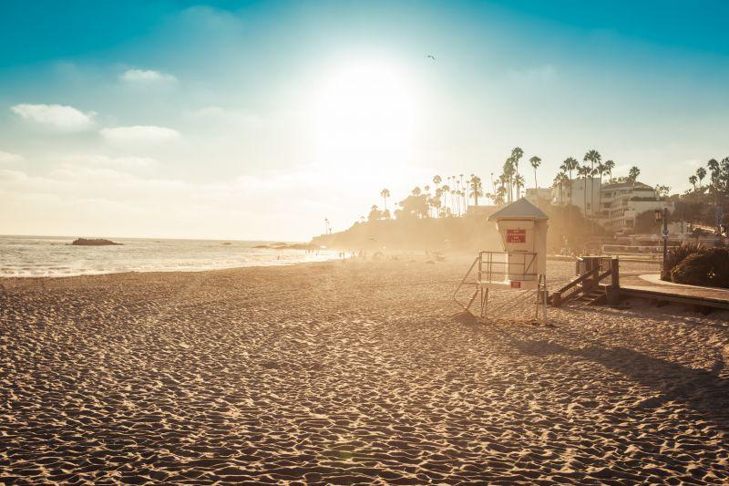 Dana Point Beach Orange County