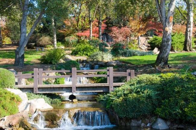 Japanese garden Fresno