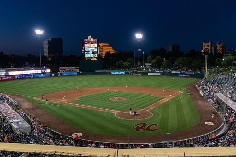 Raley Field baseball stadium