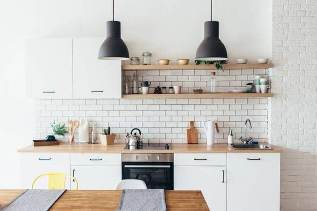 San Francisco Modern Student Kitchen