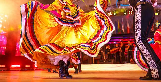 Mexican traditional dance