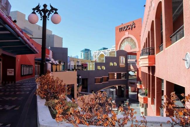 Shopping Mall in San Diego