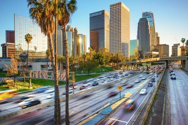 transportation in LA